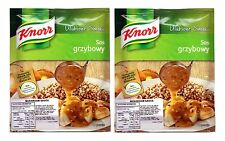 2 Packs Knorr Mushroom Sauce, Sos grzybowy 2x24g
