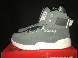 Ewing Athletics 33 Hi Suede Monument Gray White Men's