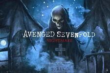 "011 Avenged Sevenfold - A7X American Rock Band Musci 36""x24"" Poster"