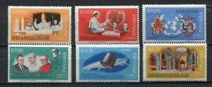 36287) Panama 1967 MNH Pope Paul VI - Space 6v