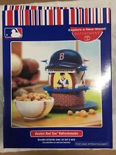 Dept. 56 Mlb Boston Red Sox Lighted Refreshment Stand & Baseball Snack Dish