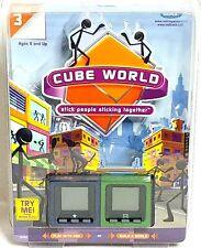 Cube World Stick People Radica Sealed Needs Battery 16092