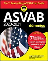 2020 / 2021 ASVAB For Dummies, Book + 7 Practice Tests Online....PAPERBACK by...