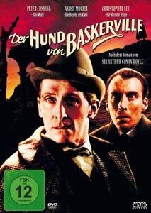 DER HUND VON BASKERVILLE - CHRISTOPHER,LEE   DVD NEU