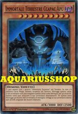 Yu-Gi-Oh Immortale Terrestre Ccapac Apu LC5D-IT147 SuperRaro ITA Immortal  Nuovo