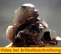 6208 Rauchquarz Gwindel Göschener Alp Uri Schweiz alpin 6*7*7 cm  MOVIE