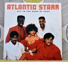 ATLANTIC STARR - All In The Name Of Love [Vinyl LP,1987] USA Import 1-25560 *EXC