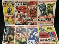 CIVIL WAR II #1 2 3 4 5 6 7 8 / Two/ Cho/ POSTER VARIANT/ Complete Set/ Lot/ Run