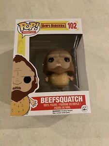 Bob's Burgers - Beefsquatch FUNKO POP VINYL FIGURE *NEW* RARE! +PROTECTOR