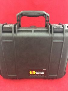"Pelican 1400 Waterproof Hard Case Black W/O Foam 13.5""x12""x5.5"" Excellent Cond."