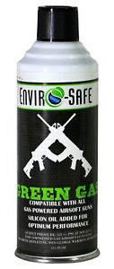 Green Gas for compressed gas Airsoft Equipment 8 oz can #1105A