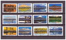 Serie Paisajes del mundo de Francia sellos adhesivos 2017