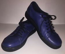 Klogs Women's Galley Lace Up Shoe Footwear Color Blue Full Grain Sz 8