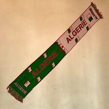 Echarpe Algérie  / Football / Drapeau / 120 cm X 22 cm