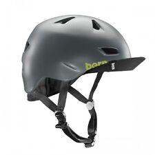 Bern Satin Charcoal Grey 2015 Brentwood Zipmold-flip Visor MTB Helmet Xxl/xxxl