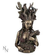 GAIA Mythological Greek Mother Earth Bronze Figurine Sculpture