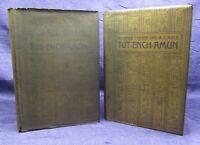 Carter Tut-ench-Amun Bd. 1 u. 2( von 3) ein ägyptisches Königsgrab 1927,1934 js
