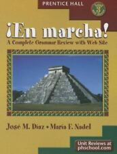 En Marcha !  A Complete Grammar Review with Web Site (English and Spanish Editio