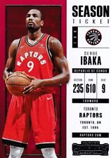 SERGE IBAKA 2017-18 PANINI CONTENDERS Basketball cartes à collectionner, #40