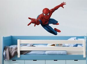 SPIDERMAN WALL ART STICKER - 5 x great sizes - Great decal for any room