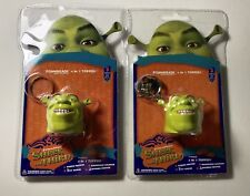 2 SHREK THE THIRD FOAMHEADS 4 IN 1 TOPPER New Bundle