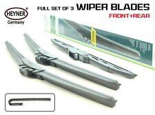 Bmw X3 2003-2010 (E83) full set of 3 wipers 2003-2010 form HEYNER