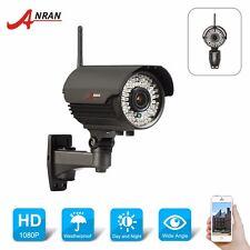 WIFI Wireless Network IP Camera Sony Sensor 1080P 2MP HD Onvif IR Outdoor Zoom
