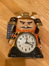 New ListingSamurai Alarm Clock Talking Rhythm Japan (with banner!) (tested and working)