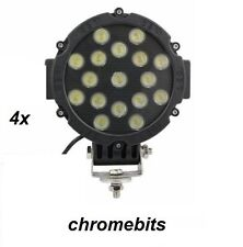 4x 12V 24V 51W LED WORK SPOT LIGHT LAMP CAR JEEP TRUCK BOAT OFFROAD ATV CHASSIS