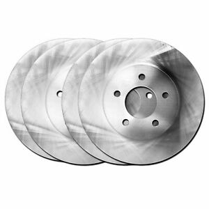 For 1993-1995 Acura Legend Hart Brakes Front Rear O.E Replacement Brake Rotors