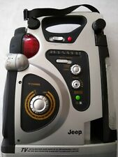 JEEP Multi-Function Camping TV Lantern, AM/FM Radio Lamp Lantern