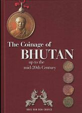 Book: The coinage of Bhutan up to the mid-20th century - Rupee Silver Gold coins