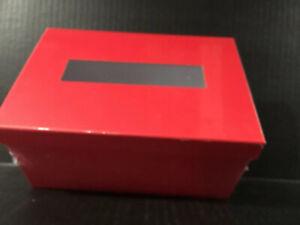 """Valentine's Day Kids Card Exchange Craft Box Red  8"""" X 4"""" X 5.5"""" New ❤️"""