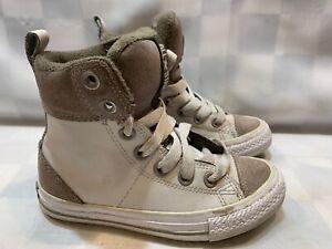 Zapatos De Lona Niñas Alto Tobillo Hi Top de Superdry Bebé Niño niños Talla 7-11UK