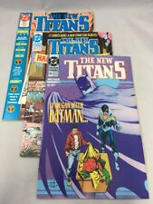 The New Titans 65 71 & Annual # 5 Dc Comics 1990 Comic Lot Vf Cyborg Nightwing