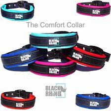 Black Rhino - The Comfort Collar Soft Neoprene Padded Dog Collar for All Breeds