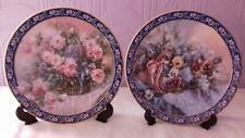 New listing Ws George Collector Plates : Lena Liu Basket Bouquets : Roses & Pansies Floral
