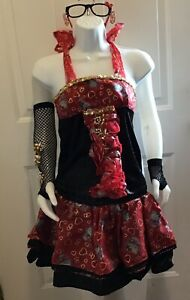 Hello Kitty Pageant Wear OOC Red
