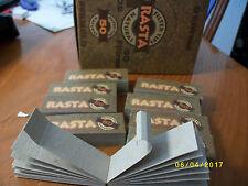 12 Filtros de cartón Naturales  para cigarrillos , filter tips , 600 filtros.