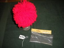 Tallina's Size 12 Red Yarn Ragg Style Doll Wig  DL297
