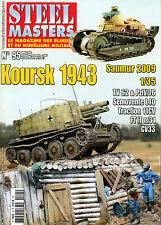 STEEL MASTERS N° 95, KOURSK 1943,  PARFAIT