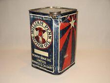 RARE Early William Penn North Star Motor Oil Six Quart Tin – Winnipeg & Calgary