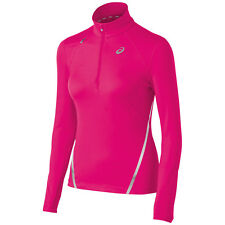 Asics Womens Thermopolis L 1/2 zip Pullover Great birthday gift! WR2189