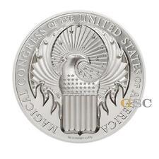 2017 Cook Island 5$ Magischer Kongress der USA Harry Potter 1 Unze Silbermünze
