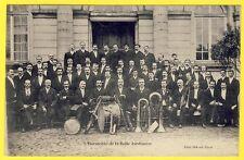 """cpa RARE PARIS Orchestre Musique L' HARMONIE des Magasins """"la BELLE JARDINIÈRE"""""""