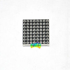 Dot-Matrix 8*8 LED Light Display 3mm Red Common Anode For Arduino