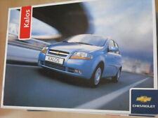 26584) Chevrolet Kalos Polen Prospekt 2006