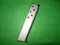 WALTHER PPKS, PP, & PPK  MAGAZINE,10 ROUND 380 CAL, NICKEL FINISH   NEW $32.95