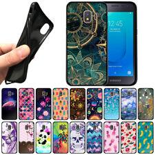 "For Samsung Galaxy J2 Core J260 5"" 2018 TPU Black Silicone Soft Gel Case Cover"