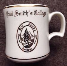 1950s 1960s PAUL SMITH'S COLLEGE COFFEE MUG, PAUL SMITHS, NY, VINTAGE